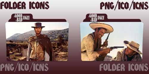 The Good, The Bad and the Ugly (1966) Folders by ChrisNeville32