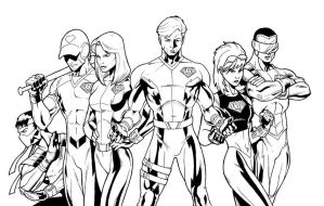 The Bionic Six by sean-izaakse