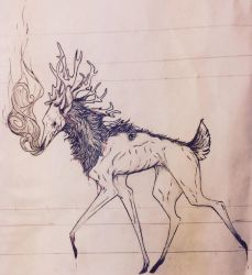 It's just a little death deer by NaturalNuisance