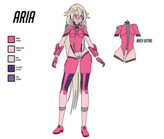 Overwatch Hero Concept - Aria by anondxdproductions