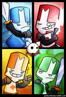 Castle Crashers Versus by pickles-4-nickles