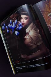 publication in THE INFECTED BY ART BOOK by stellartcorsica