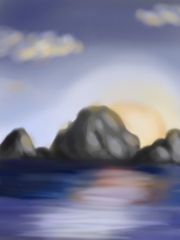 Seascape by saturnart