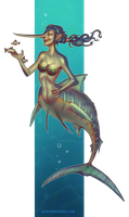 Mermay #7 by Wyndagger