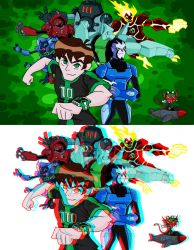 ben 10 collage by rubtox