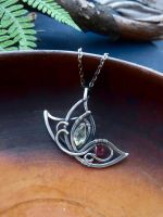 Tiny butterfly pendant by UrsulaJewelry