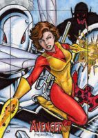 Wasp - Avengers Silver Age by tonyperna