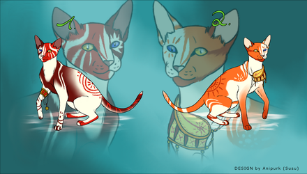 The Sun Twins Auction - Adoptables CLOSED by Anipurk