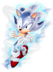 What if: Sonic as Ultra Instinct -Mastered- by Nibroc-Rock