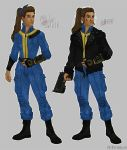 Evelyn - Vault Dweller and Seeker by Aryksa