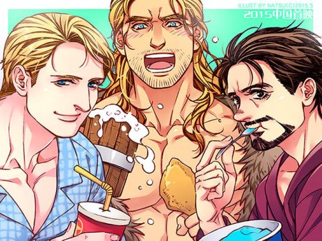 The Avengers-5.12 by Athew
