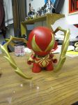 Iron Spider-Man Munny by MUFC10