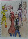FNAF/RE4 crossover by PaigeLTS05