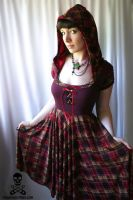 little plaid riding hood 2 by smarmy-clothes