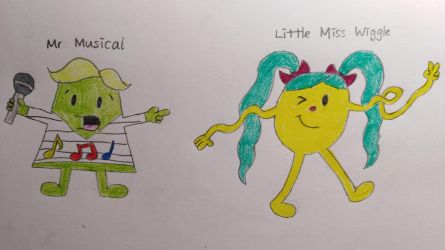 Mr Men/Little Miss OCs by Dilettante1337