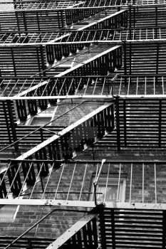 New York Fire Escape by Dan-Tsui
