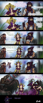 Malzahar X Leblanc - part 2 by No-sabe