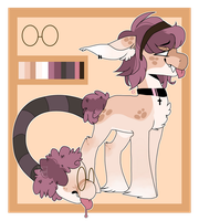 Peachy Adopt- Cotton mouth- CLOSED by Tesspy