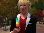 Sims 3: Lollypop by GothicKitta