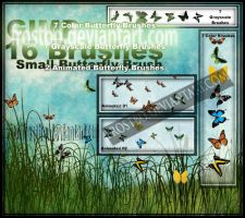 Small Butterfly Color GIMP by FrostBo