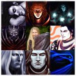Art vs Artist - The Silmarillion by Sirielle