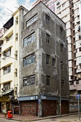 Hong Kong Building by smokinjay