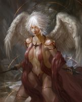 Practice - Angel by arifwijaya
