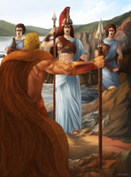 Hercules' Labor 9 - Hippolyte's Belt by Nidhogge