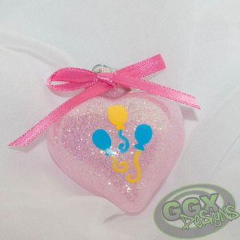 Pinkie Pie Themed Ornament by GmrGirlX