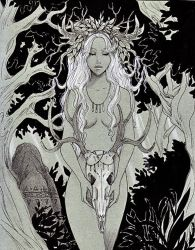 - Gift - The  Forest Spirit by ooneithoo