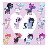 Aesthetic Adopt batch [0/12 OPEN] by CandyCrusher3000