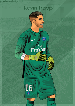 Kevin Trapp Vector by bluezest1997