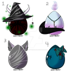 Mystery Halloween adopts (Closed) by SoulsofTheDoomed