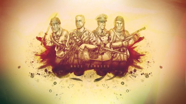 Nazi Zombies wallpaper. by Pacbee