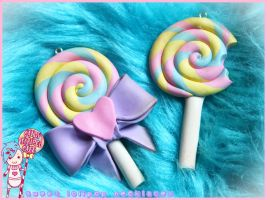 Lolipop Charms- DISCOUNTED by CandyStripedCafe