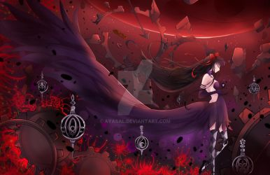 The Devil Homura by Ayasal