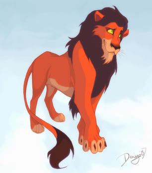 King Scar by senpeep