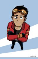 Generator Rex Looking Up by 4eknight11