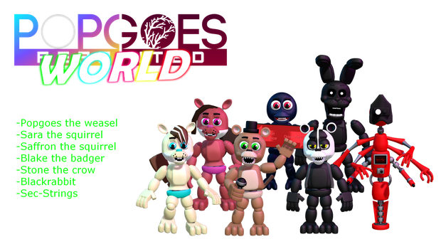 MMD- POPGOES World Pack (DL!) by OscartheChinchilla