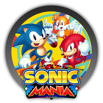 Sonic Mania - Icon by Blagoicons