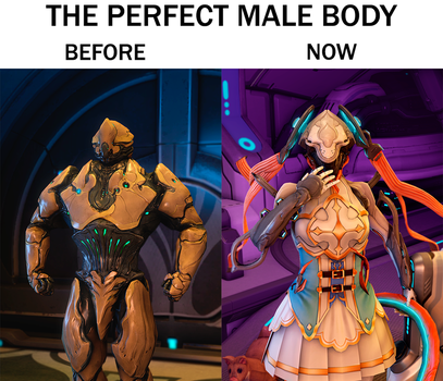 The Perfect Male Body by Roboew