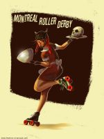 Montreal Roller Derby by fstarno
