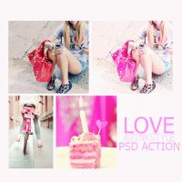 love pink style psd by memoriesinsecret