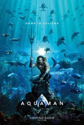 WB/DC unleashes first Aquaman official poster by josh45667