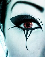 Deathrock make-up II by DarkAsteria