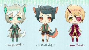 Adoptables - Batch 7 [CLOSED] by MidnightAdoptss