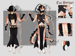 Dextro adopt: Koi Warrior CLOSED by Lunathyst