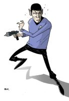 Spock by dsb