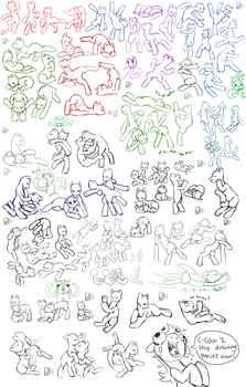 MLP: All My Poses by Kinla