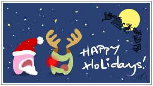 Happy Holidays by Choomus